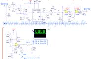 Schéma filtre actif ordre 10 avec MAX7400 pour subwoofer