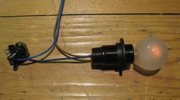 gradateur lumière potentiomètre