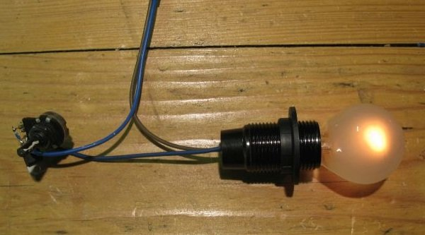 variateur de lumière montage
