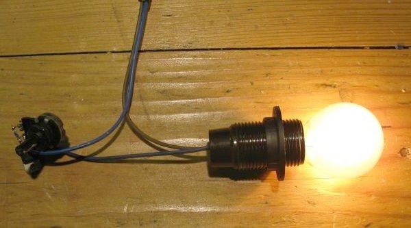 variateur gradateur de lumière