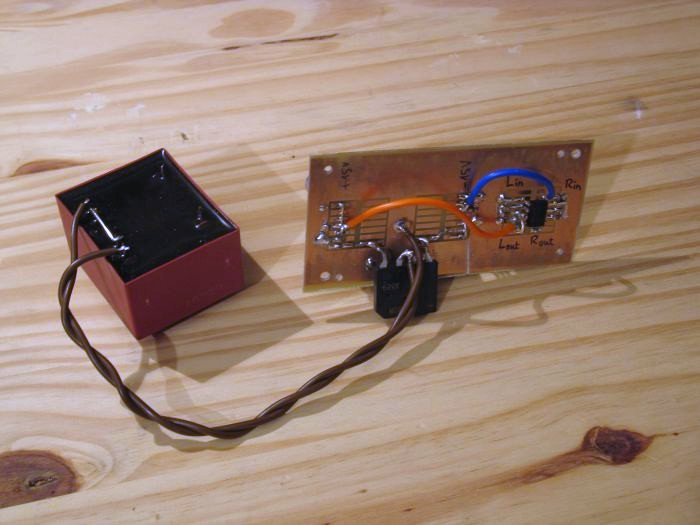 alimentation preampli phono
