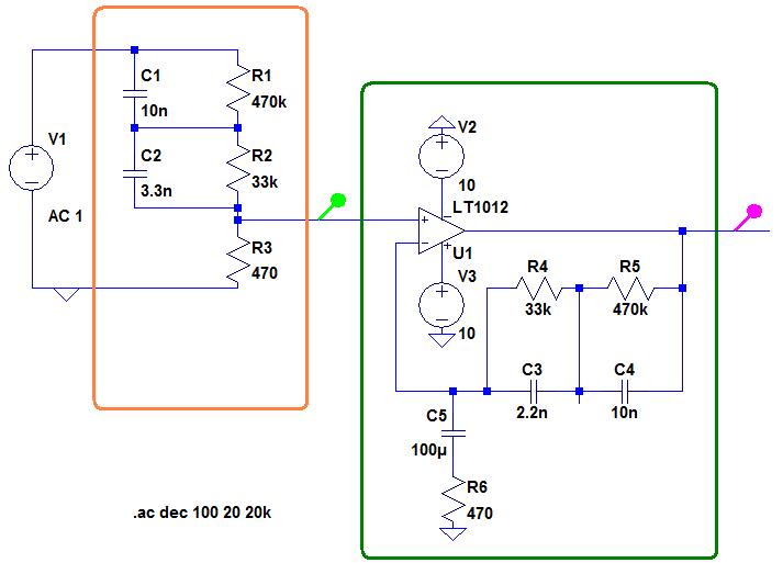 schema preampli phono inverse