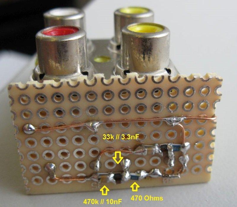 schema riaa inverse phono