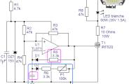 Stroboscope à LED 50W 100W