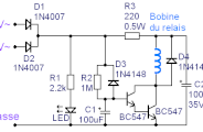 Temporisation à relais pour haut parleur et ampli