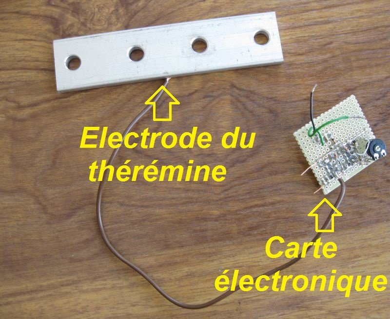 electrode theremine simple