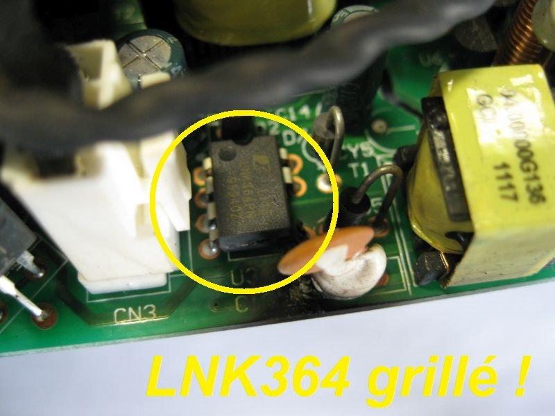 alimentation videoprojecteur optoma lnk364