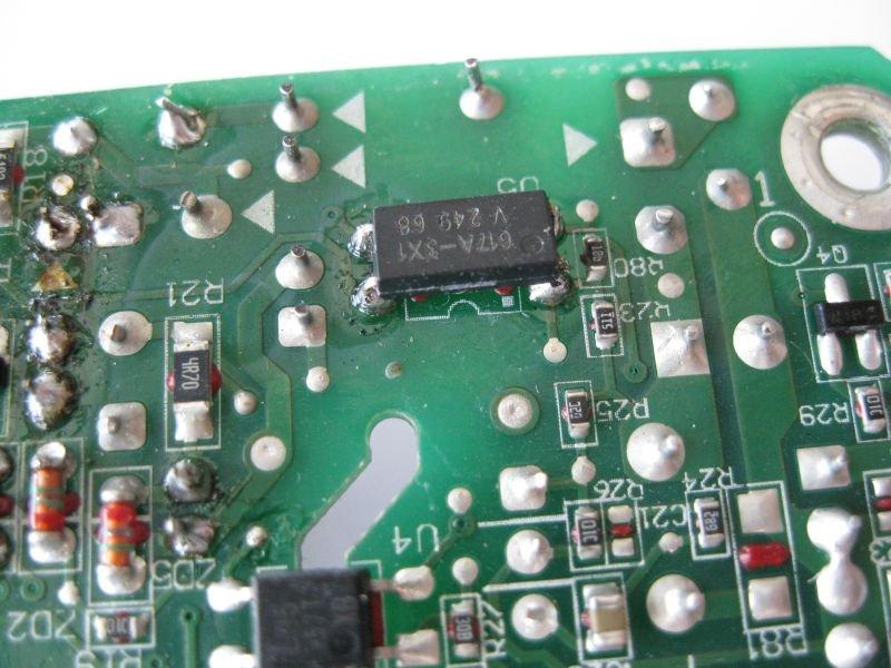 optocoupleur alimentation videoprojecteur