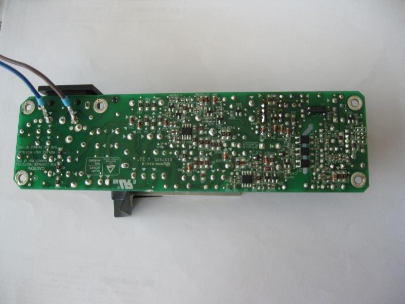 power supply schematic optoma