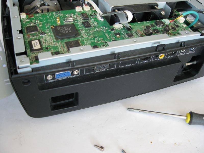 vidéoprojecteur en panne réparer