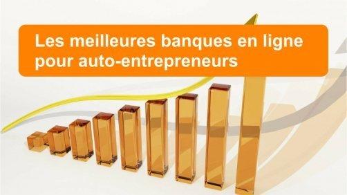 meilleures banques en ligne auto-entrepreneurs