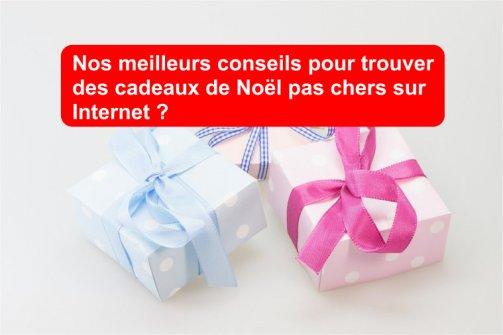 cadeaux pas chers Noël internet