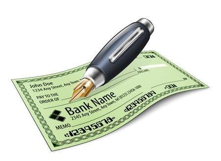 Chèque de banque