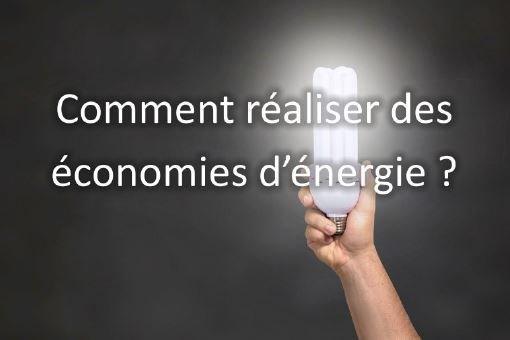 faire des economie energie