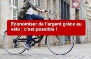 Économiser de l'argent grâce au vélo