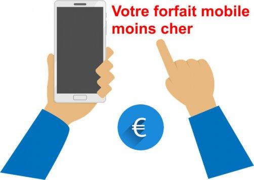 economiser argent forfait mobile