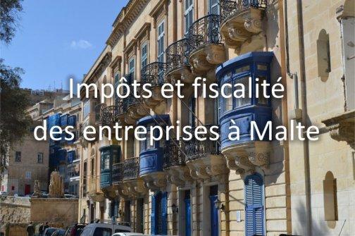 impôts fiscalité malte