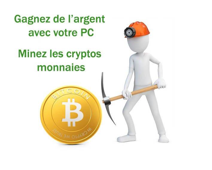 miner facilement crypto monnaies