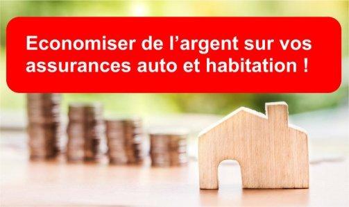 assurance auto habitation moins chère
