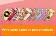 Votre carte bancaire personnalisée