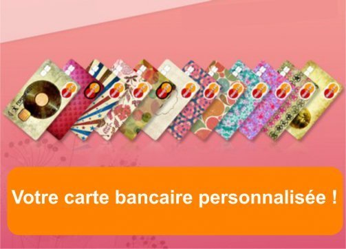carte bancaire personnalisee