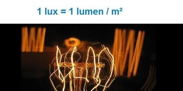 lux lumen definition difference