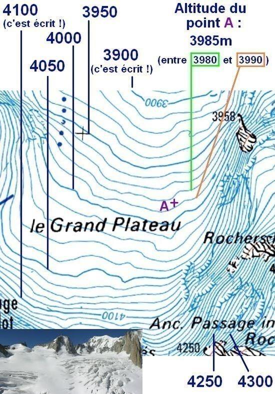 lire les courbes de niveau sur carte ign 2