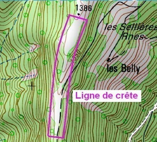 Carte Topographique Crete.Lire Les Courbes De Niveau Sur Carte Ign Astuces Pratiques