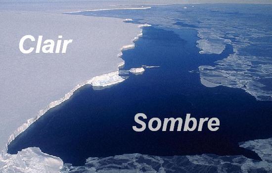 navigation dans l arctique ice blink et water sky 6