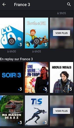 regarder tv iphone repay emission ou serie