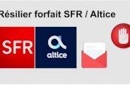 Résilier forfait SFR / Altice