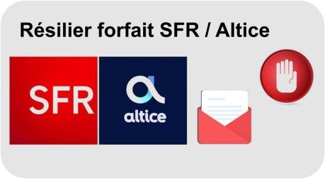 Résilier forfait SFR ou Altice