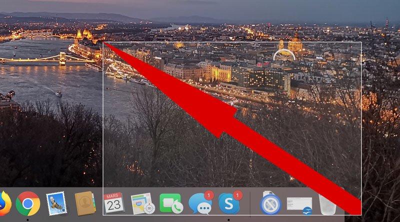 faire un capture d ecran sur mac 3
