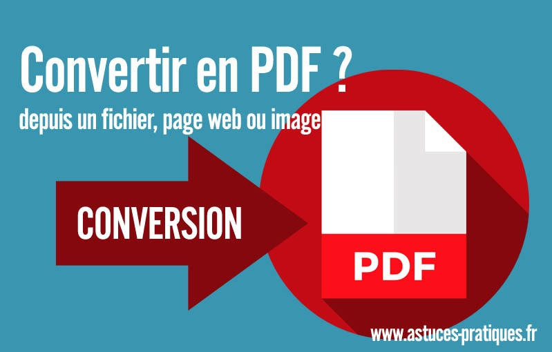 enregistrer vos travaux en pdf avec une imprimante