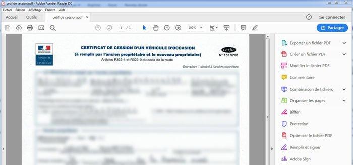 ouvrir pdf windows