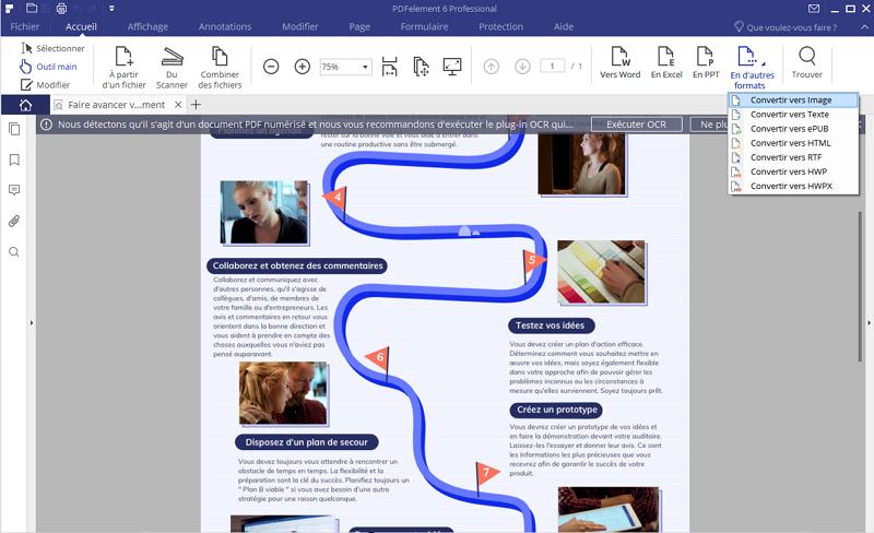 pdf en image