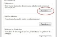 Desactiver la mémoire virtuelle pour optimiser windows 7