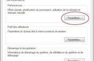 Desactiver la mémoire virtuelle pour optimiser windows 7