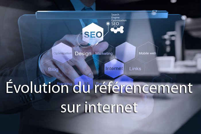 evolution referencement sur internet