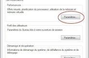 gérer la mémoire virtuelle pour optimiser windows 7