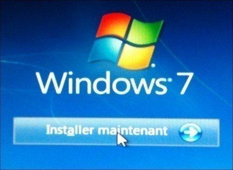 installer maintenant windows 7