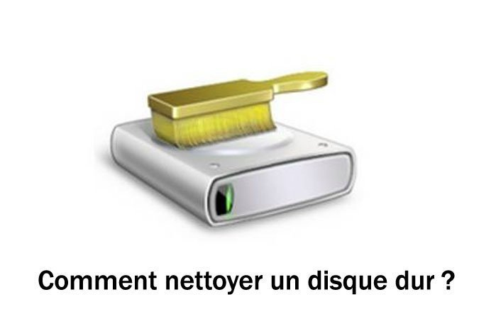 nettoyer son disque dur sur windows 7 1
