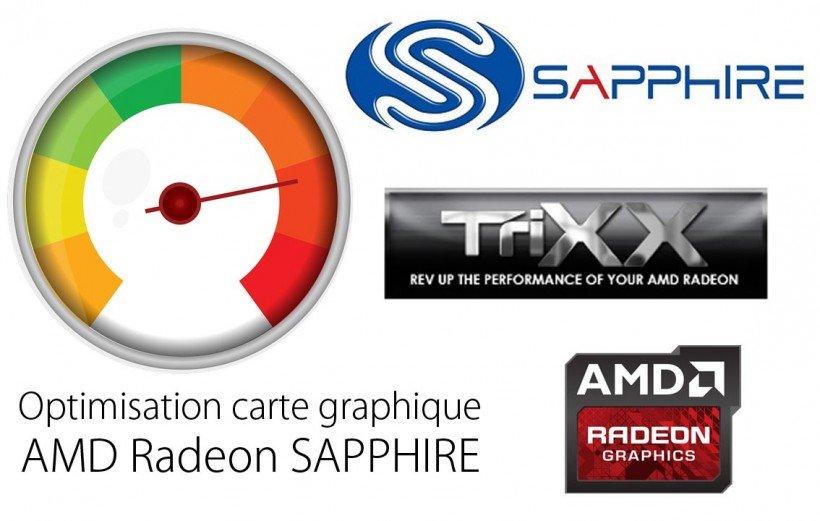Overcloacker carte graphique sapphire amd radeon