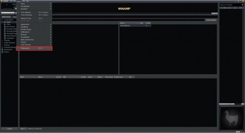 pacemaker plugin winamp gestion vitesse lecture