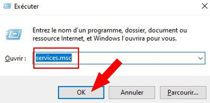 annuler mise a jour auto windows 10 services msc