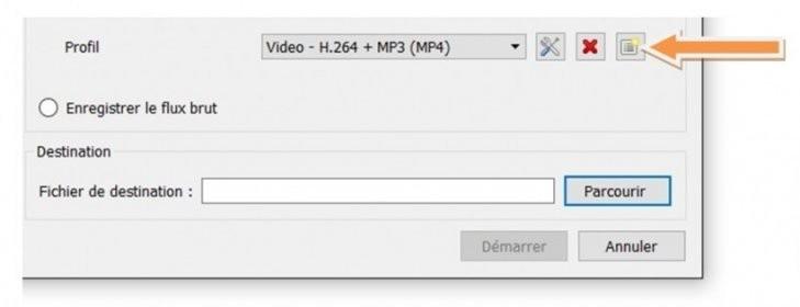 réparation du bug vlc pour la capture video