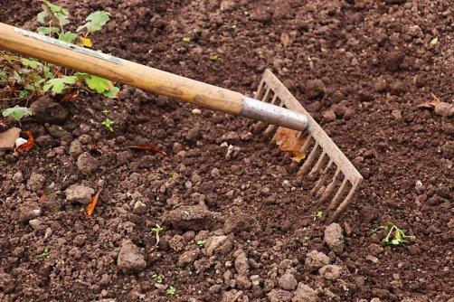 préparer terre jardin potager