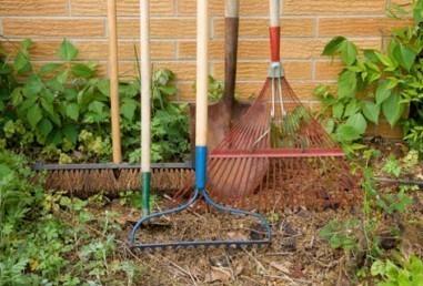 Garder de bons outils de jardinage