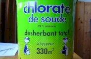Le désherbant chlorate de soude