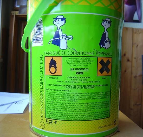 Desherbant chlorate de soude desherbant chlorate soude - Desherbant total puissant ...